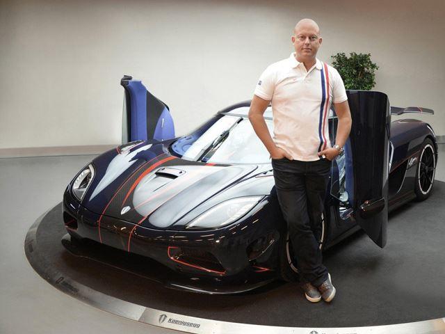 Christian von Koenigsegg được xem là một trong những người có ảnh hưởng nhất đến nền công nghiệp xe hơi đương đại