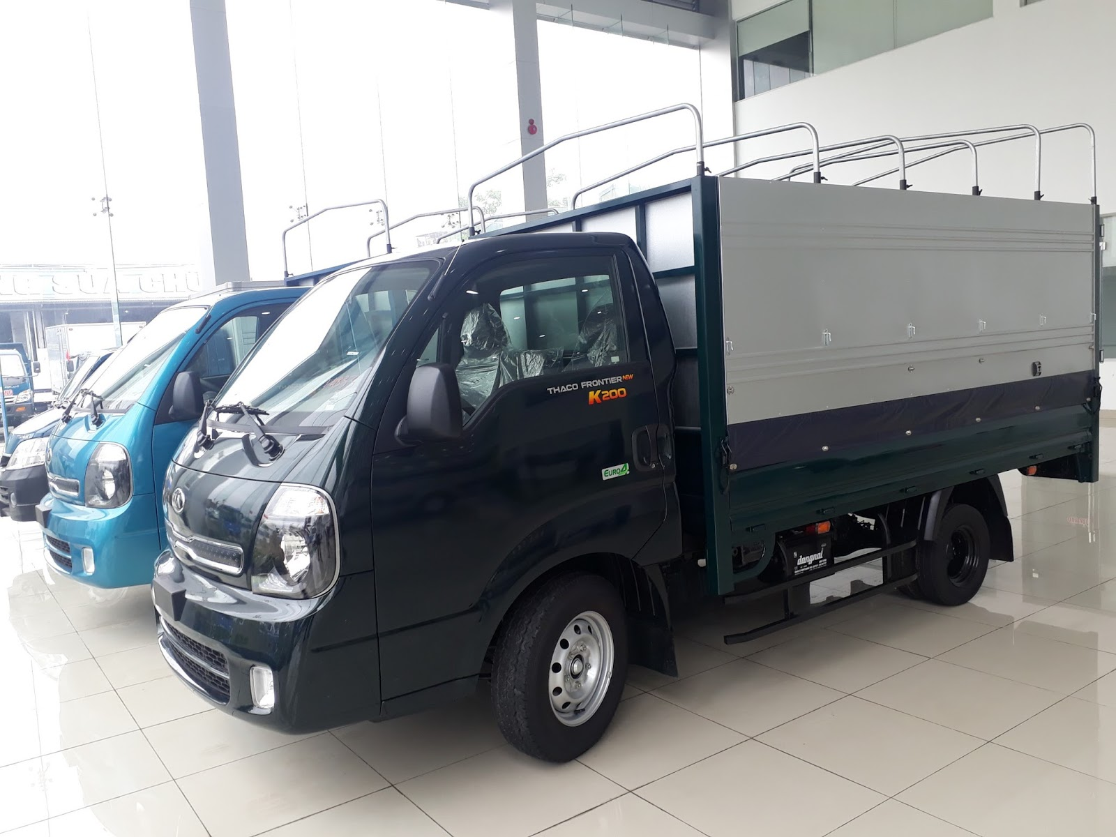 Bán xe ô tô tải Hyundai 1 tấn Thaco K200  tại Hải Phòng hỗ trợ trả góp, vay vốn ngân hàng