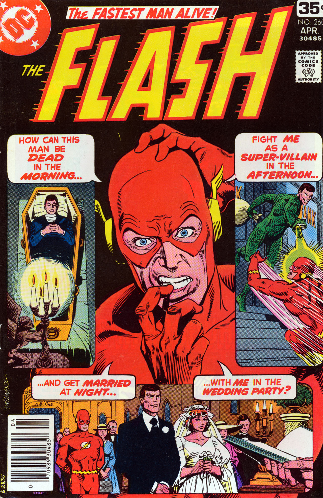 The Flash (1959) issue 260 - Page 1