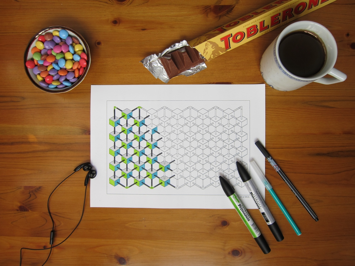 02-Relax-and-Draw-Designstack-Optical-Illusions-and-Impossible-3D-Coloring-Collection-www-designstack-co