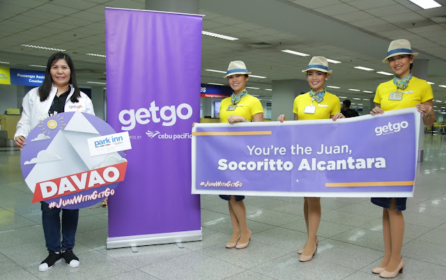 GetGo Rewards 2017 Top Redeemer Socoritto Alcantara