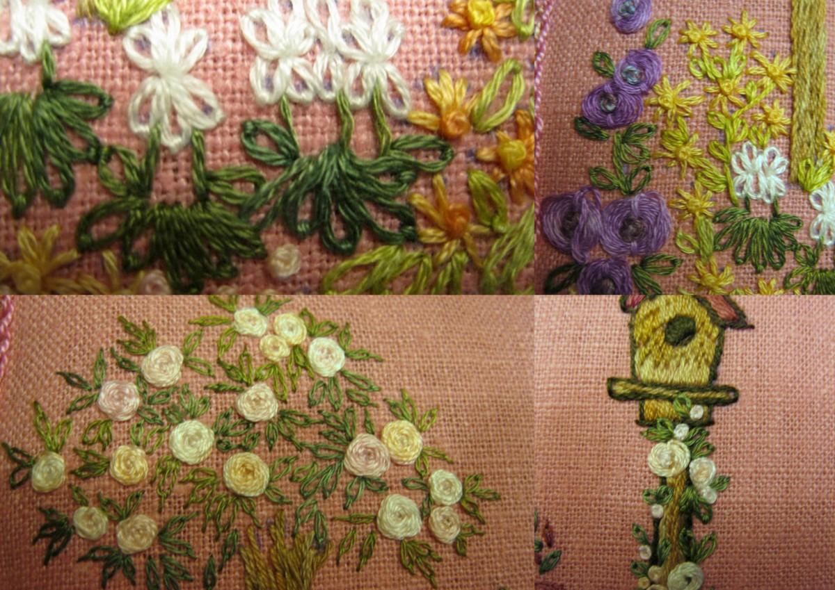 Brodibidouillages et compagnie jardin fleuri for Jardin fleuri lyon 9