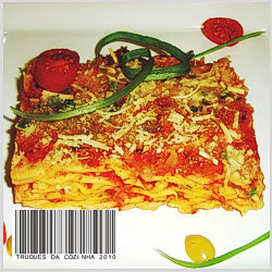Talharim ao forno com molho de tomate