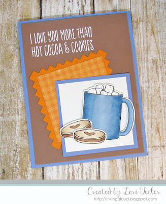 More Than Hot Cocoa and Cookies card-designed by Lori Tecler/Inking Aloud-stamps from WPlus9