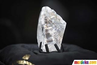 Ini wujud berlian kasar termahal sedunia By Ramadlan TK