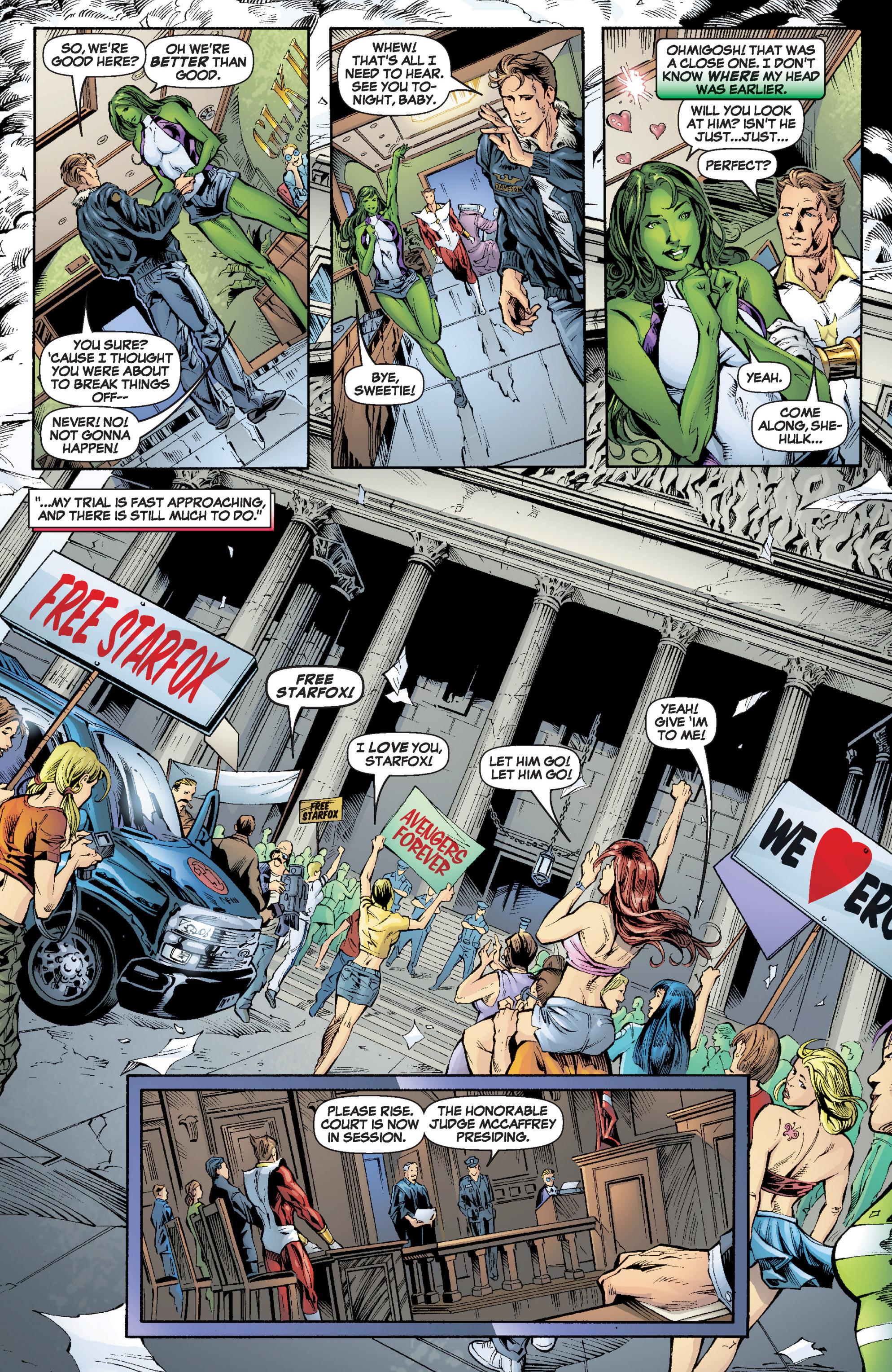 Read online She-Hulk (2005) comic -  Issue #6 - 21