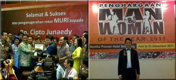 Cipto Junaedy Man Of The Year 2011