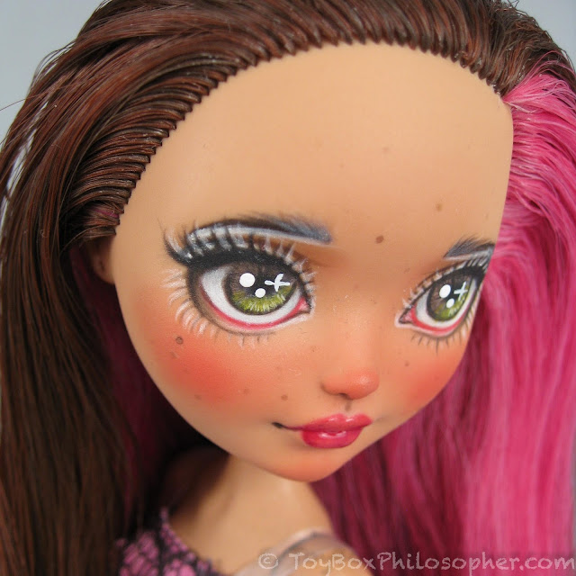 An Ever After High Repaint Tutorial By Charlotte Of Milklegs Dolls The Toy Box Philosopher