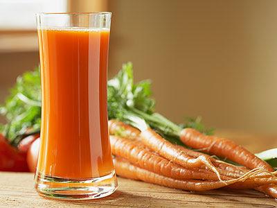 bienfaits pour la santé du jus de carotte
