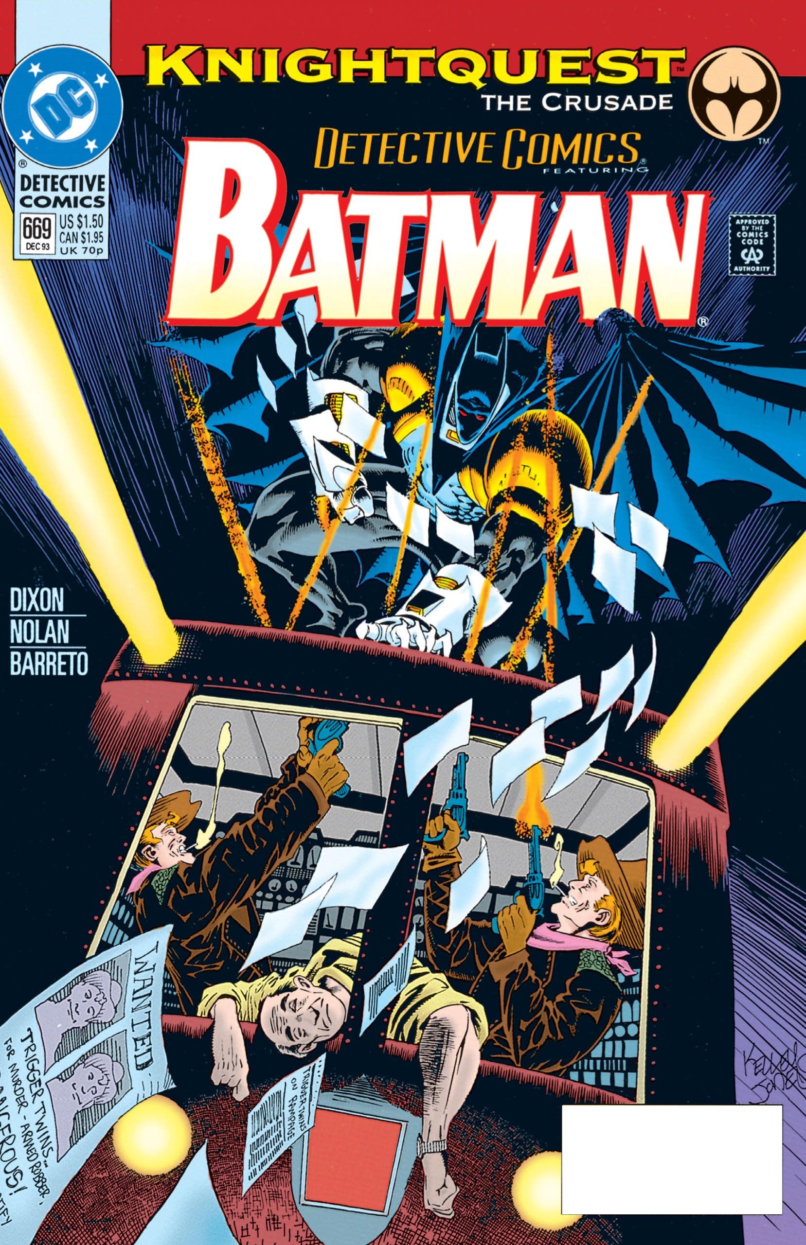Detective Comics (1937) 669 Page 1