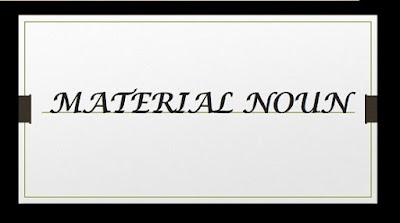 material-noun