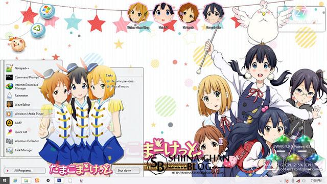 Windows 8/8.1 Theme Tamako Market by Enji Riz
