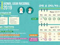Tanggal-Tanggal Penting Jadwal UN SMA/SMK/MA Tahun 2019