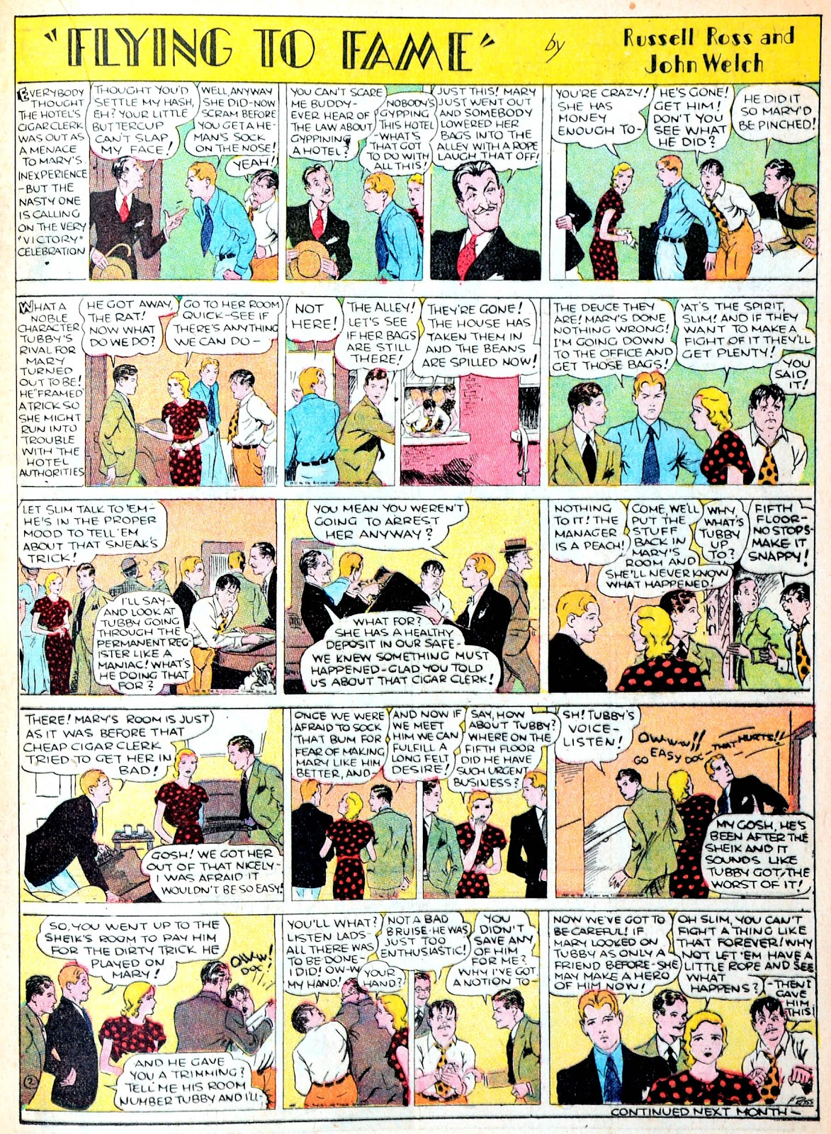 Read online Famous Funnies comic -  Issue #13 - 31