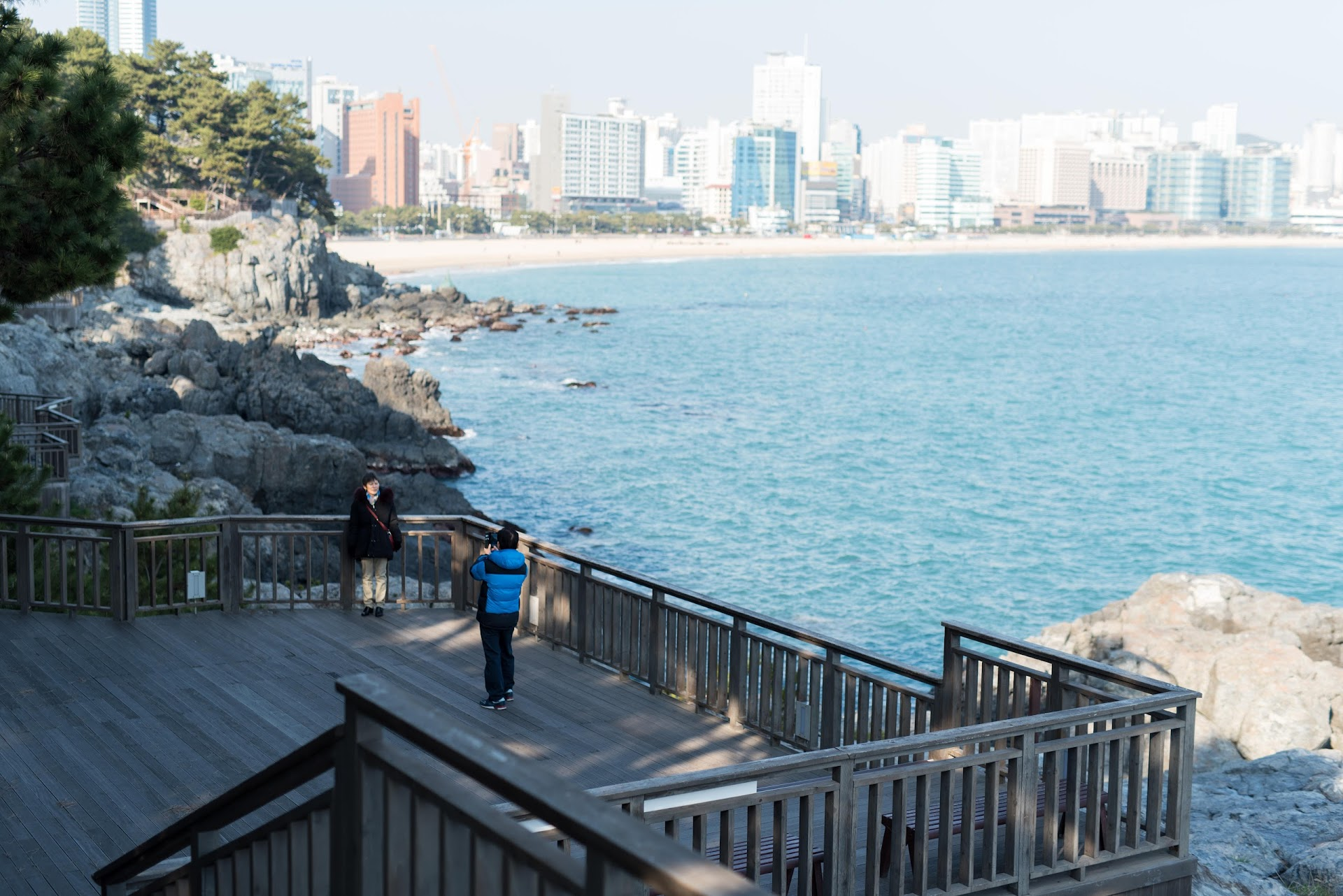 busan, korea, south korea, travel blog, tips, what to do, where to go, beach, tour, ideas, tourist, ocean, things to do, south, korean blogger, haeundae in winter, march, immigrant, best beaches, sea cliff,