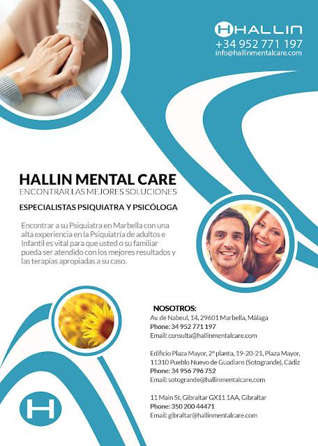 Especialistas Psiquiatra y PsicólogaPsiquiatra Marbella Hallin Mental Care encontrar las mejores soluciones
