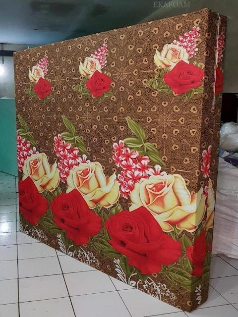 Kasur inoac motif bunga batik rose