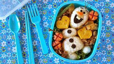 Great bento idea for both boys and girls :)