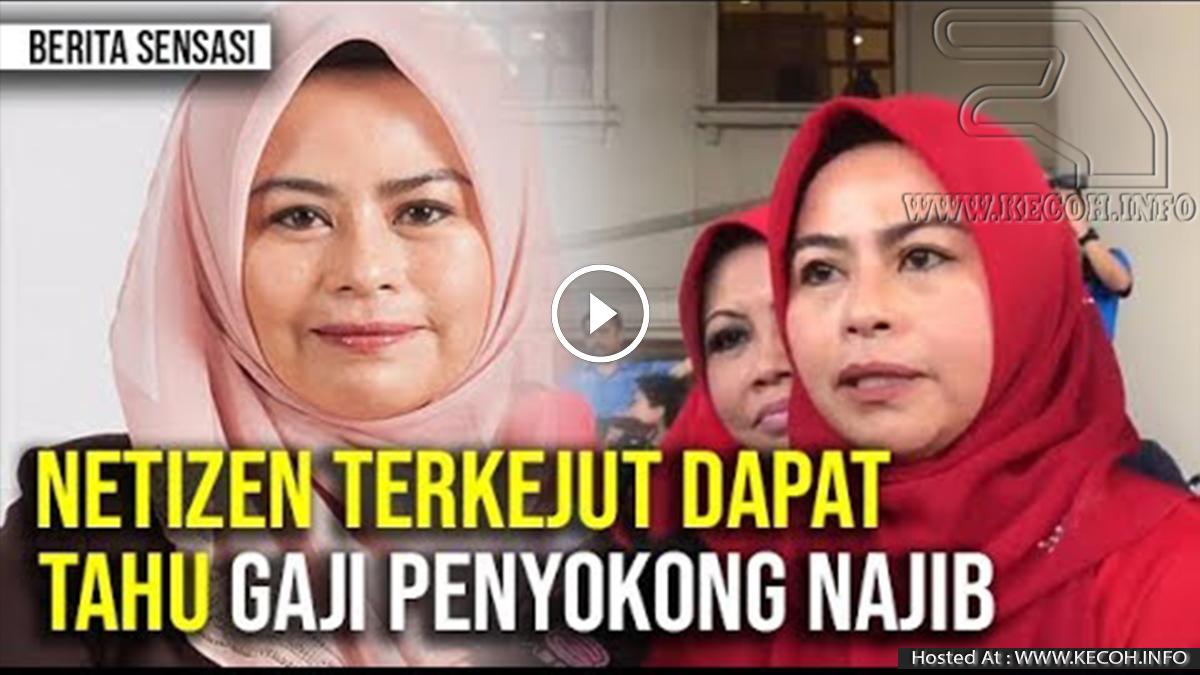Rupanya Gaji Penyokong Najib Diberikan RM25,000 Sebulan?