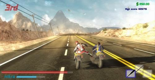 Racing Action Game Example Road Redemption Alpha