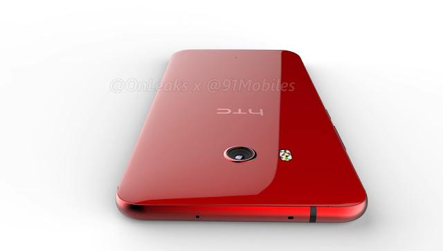 Hình ảnh và video chiếc điện thoại HTC U 11 bị rò rỉ: thiết kế ấn tượng