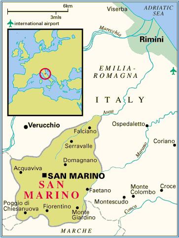 Dojazd do San Marino z Rimini