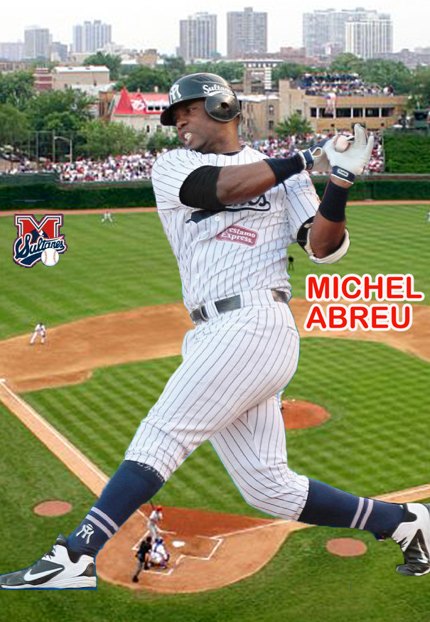 PASAJE DEPORTIVO  Michel Abréu  Un pelotero GIGANTE de la gorra a ... 1db26655323