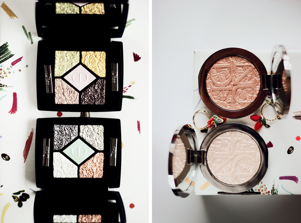 dior glowing gardens spring 2016 collection couture palettes