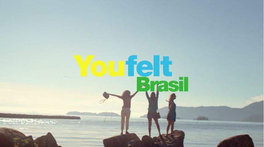 Pubblicità Embratur pubblicità invita tutti a venire in Brasile per l'estate con Foto
