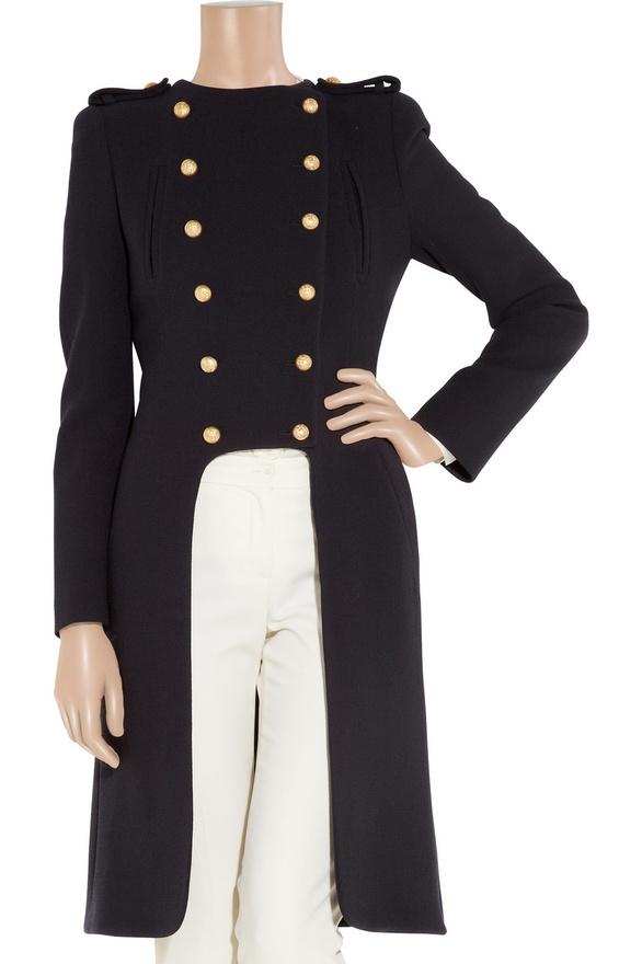 My RepliKate: Alexander McQueen military coat