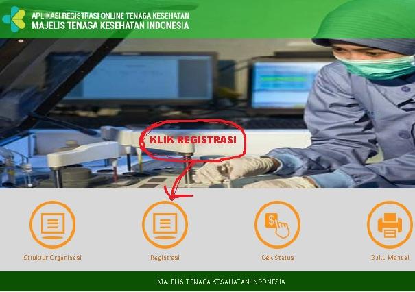 pendaftaran STR via online