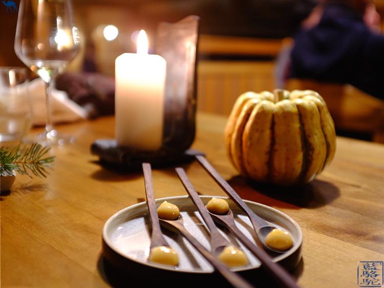 Le Chameau bleu -Diner Gastronomique 2 Etoile Michelin au Fornet  Benoit Vidal