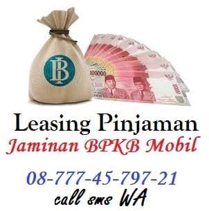 pinjaman uang leasing resmi jaminan bpkb