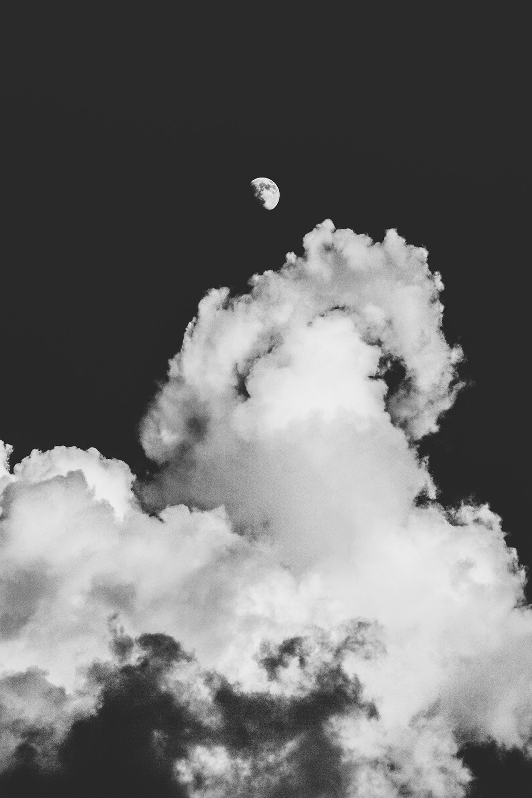 The Moon in the Cloud
