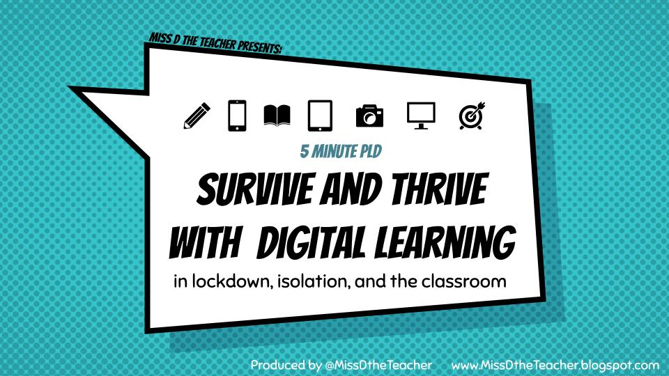 Subscribe to Survive and Thrive with Digital Learning