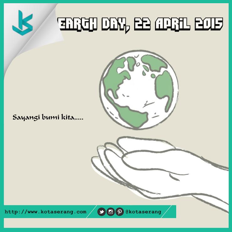 Gambar Vector - Gambar Peringatan Hari Bumi 22 April 2015