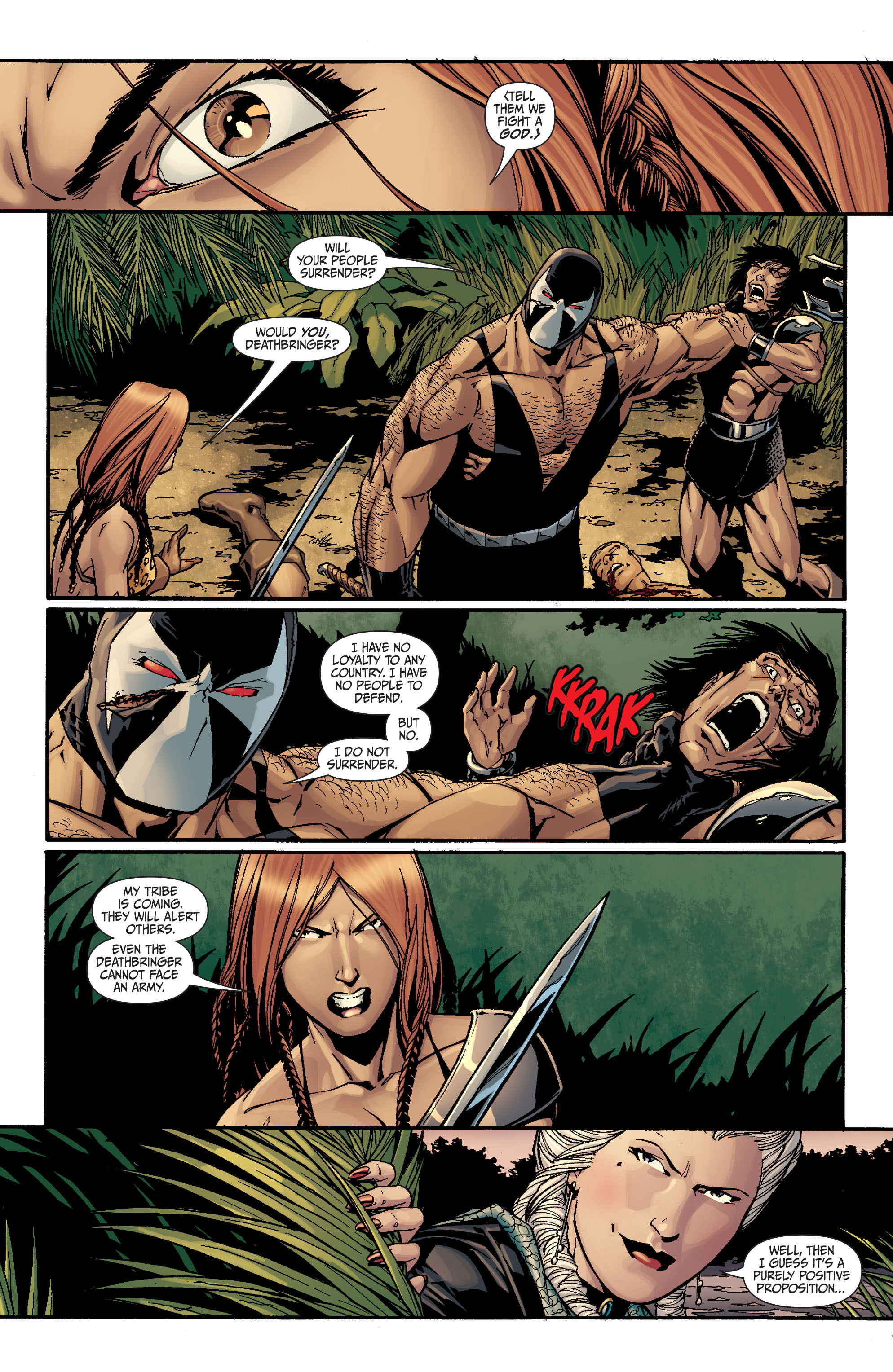Read online Secret Six (2008) comic -  Issue #26 - 4