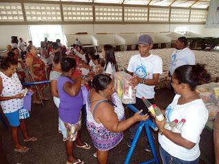 SMAST de Riachuelo fecha o ano realizando mais uma entrega de cestas básicas as famílias carentes