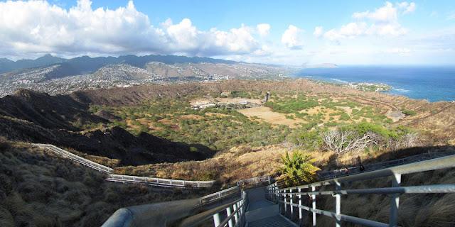acesso à Cratera Diamond Head – Havaí