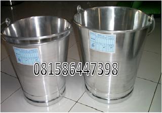 Harga Ember Perah Susu Aluminium, Milkcan Aluminium, Milkcan Stainless