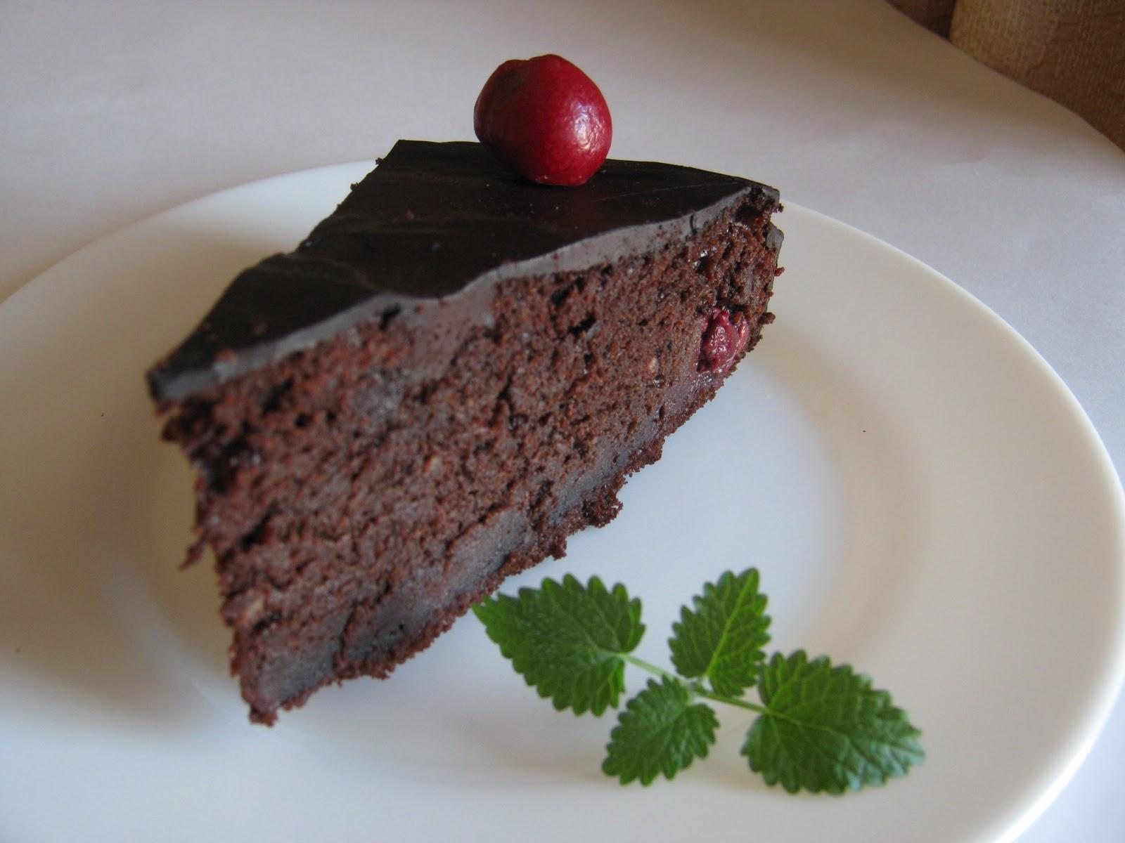 Kirche: Шоколадно-вишневый пирог-торт