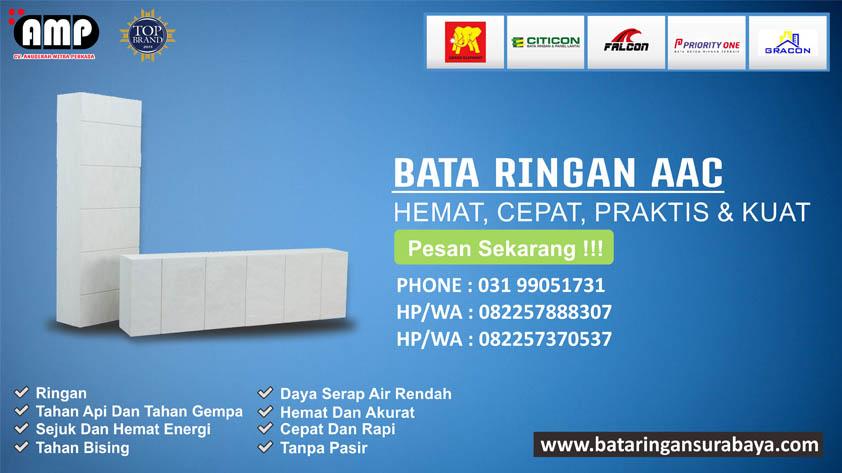 Jual Bata Ringan Murah, Supplier Bata Ringan, Distributor Bata Ringan Gresik 082257370537