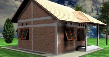 & Sketsa Rumah Sederhana yang Unik - Desain Rumah