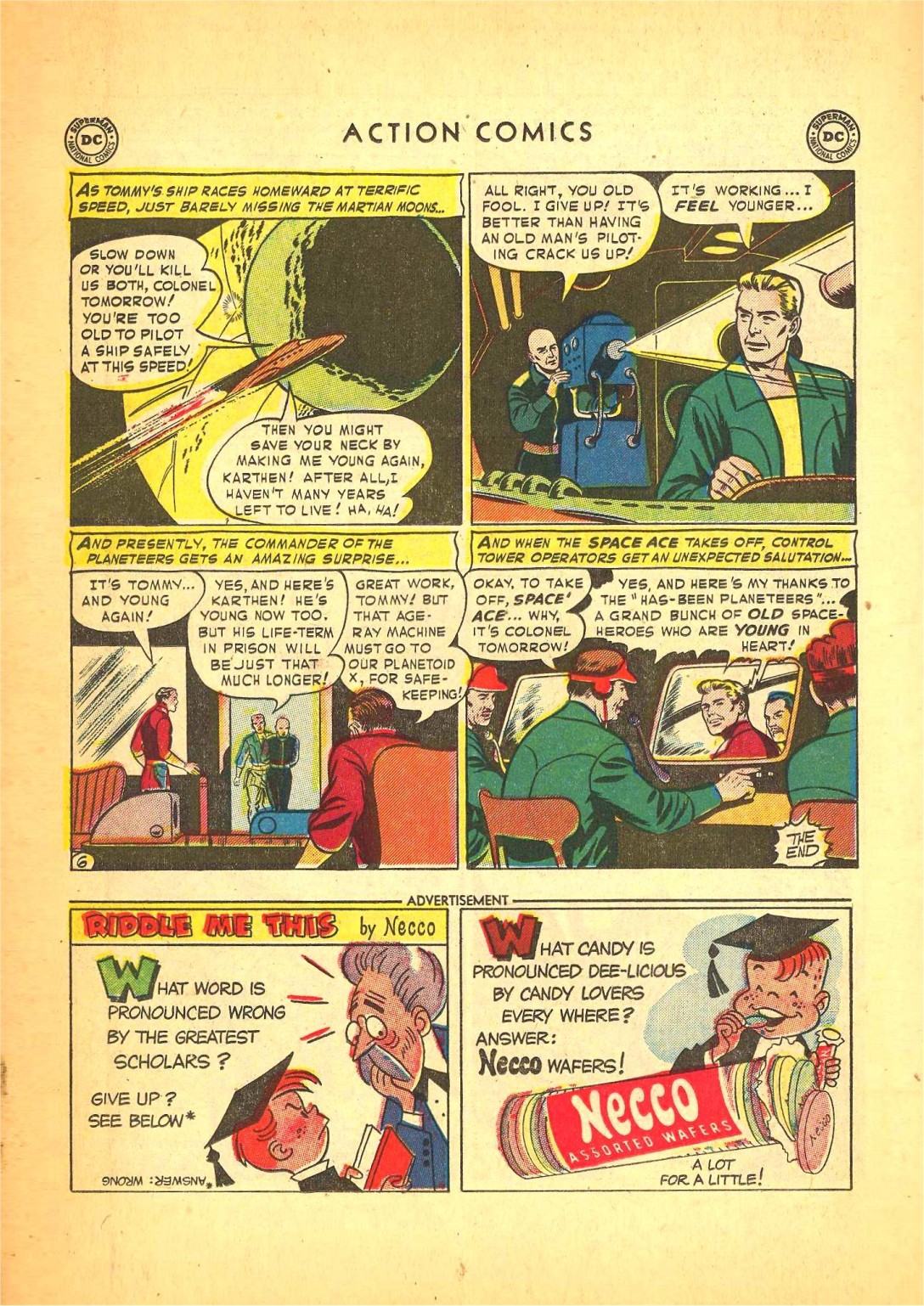 Read online Action Comics (1938) comic -  Issue #166 - 21