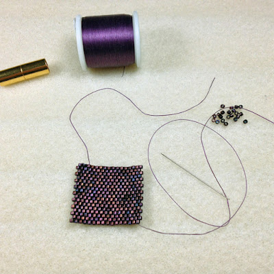 Even Count Peyote Stitch Instructions