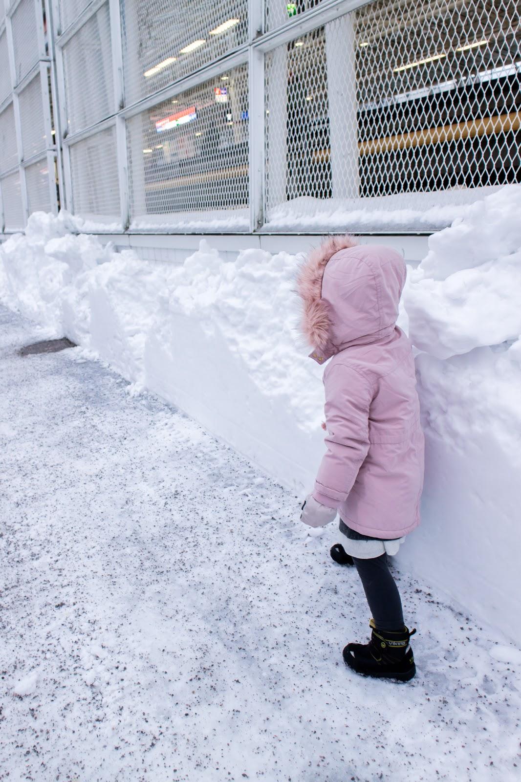 viikkokatsaus, arki, lapsiperhe, Helsinki, Helmikuu