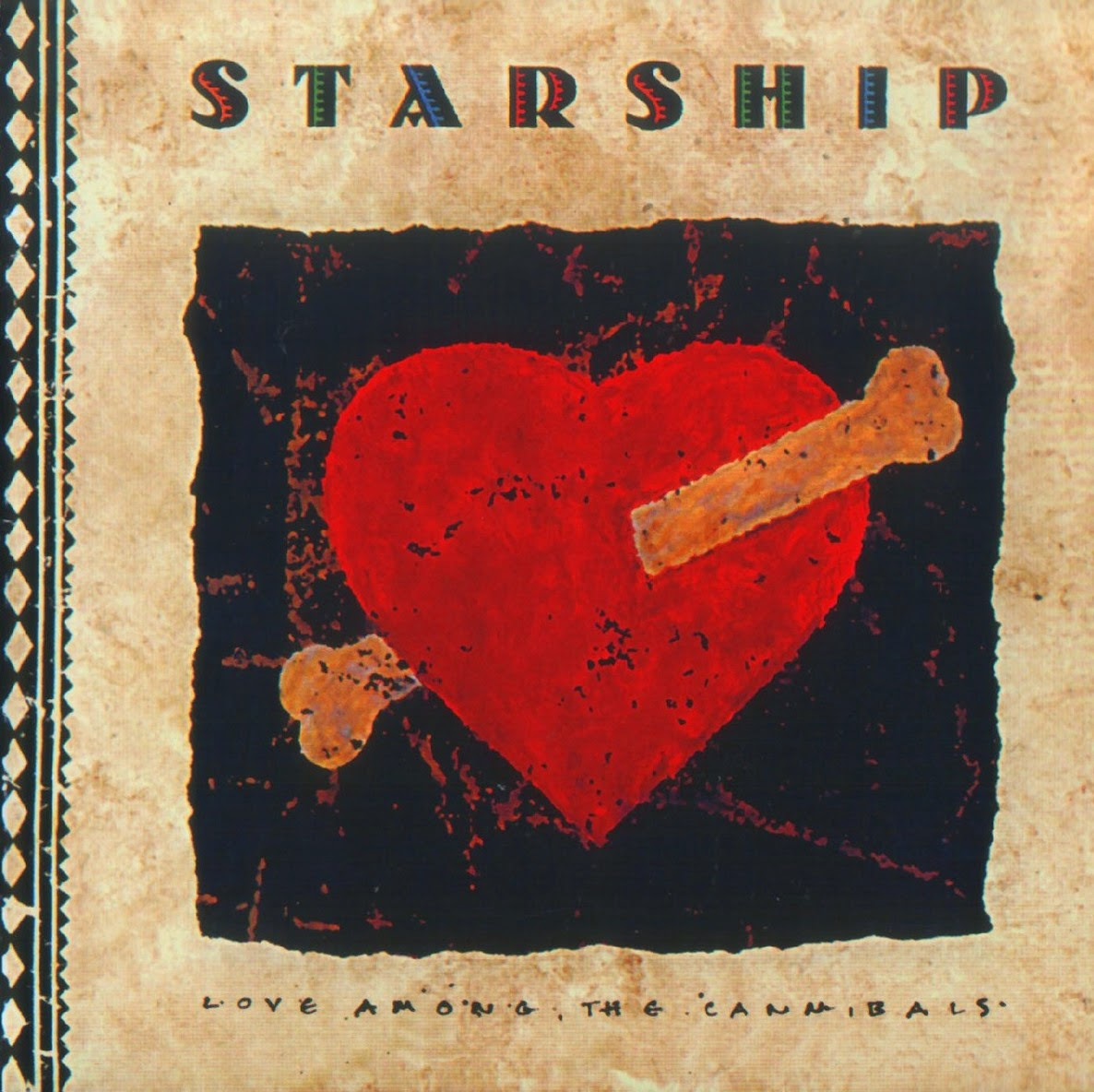 Starship Love among the cannibals 1989 aor melodic rock