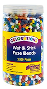 http://theplayfulotter.blogspot.com/2017/11/colorations-wet-stick-fuse-beads.html
