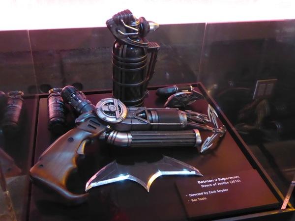 Batman v Superman Bat tools movie props
