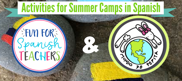 Summer Camp Spanish Activities